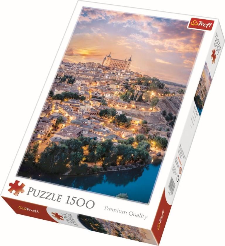 Puzzle Trefl 1500 Toledo Spania
