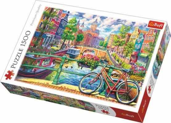 Puzzle Trefl 1500 Amsterdam