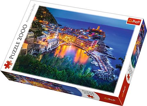 Puzzle Trefl 2000 La Apus In Vernazza Italia