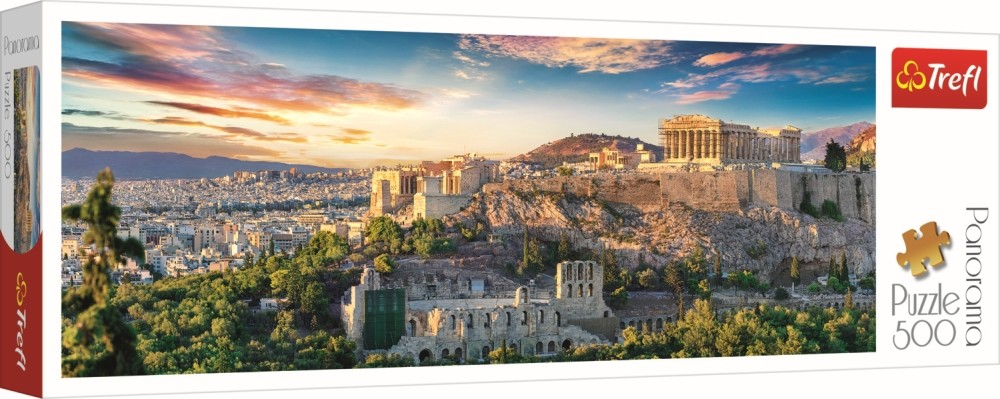 Puzzle Trefl 500 Panorama Acropolis Atena