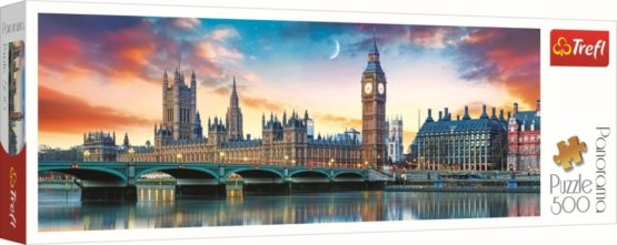 Puzzle Trefl 500 Panorama Big Ben