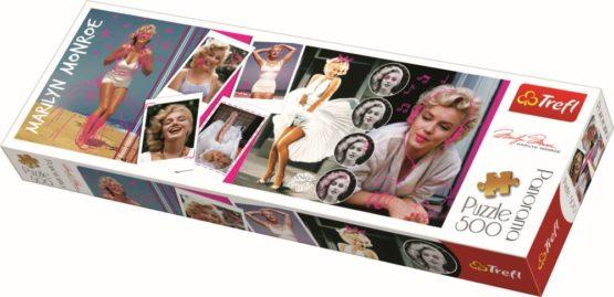 Puzzle Trefl Panorama 500 Colaj Marilyn Monroe