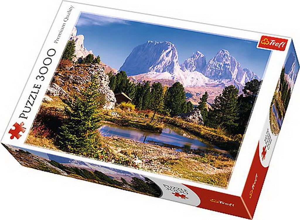 Puzzle Trefl 3000 Un Lac In Dolomites