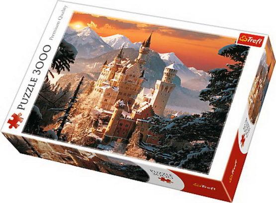 Puzzle Trefl 3000 Castelul Neuschwanstein