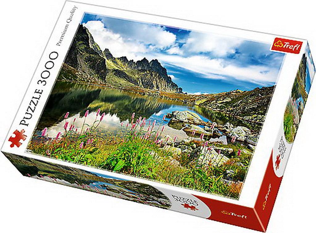 Puzzle Trefl 3000 Lac In Muntii Tatra Slovacia