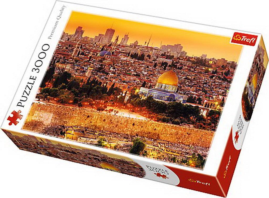 Puzzle Trefl 3000 Acoperisuri In Ierusalim