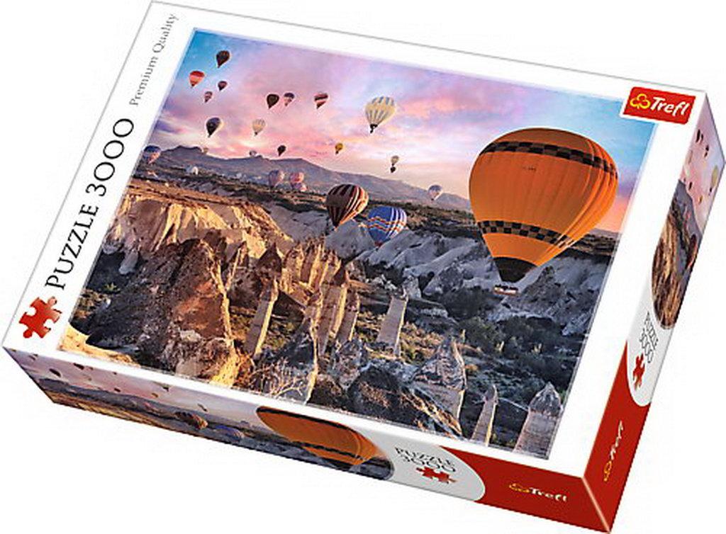 Puzzle Trefl 3000 In Aer Cu Balonul