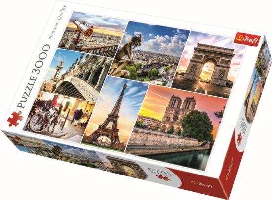 Puzzle Trefl 3000 Magia Parisului