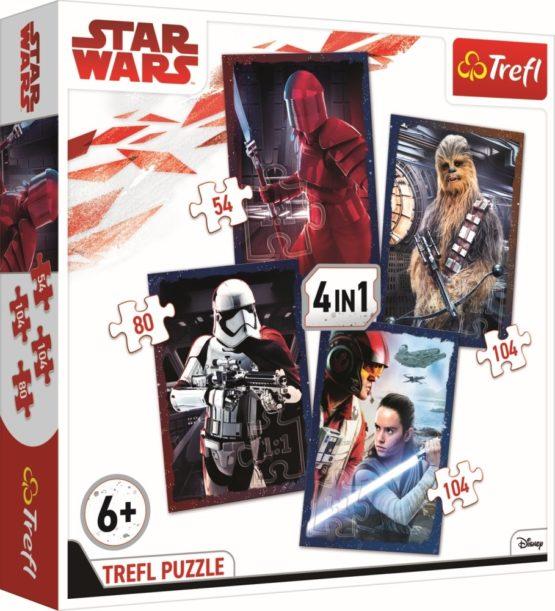 Puzzle Trefl 4in1 Pregatit De Lupta