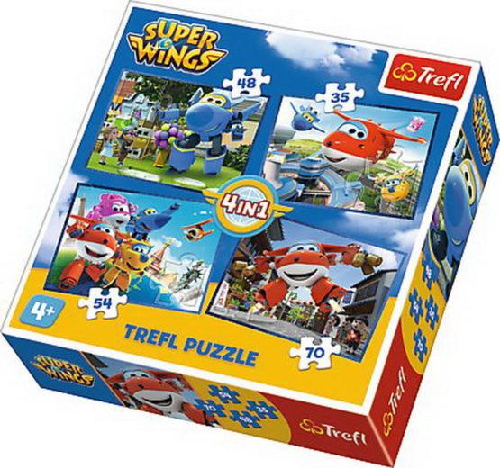 Puzzle Trefl 4in1 O Echipa Grozava