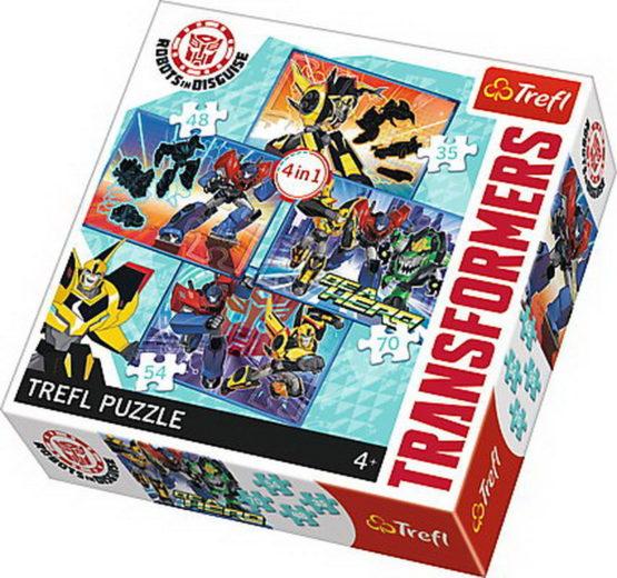 Puzzle Trefl 4in1 Transformers