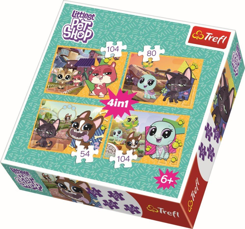 Puzzle Trefl 4in1 Amintiri De Neuitat