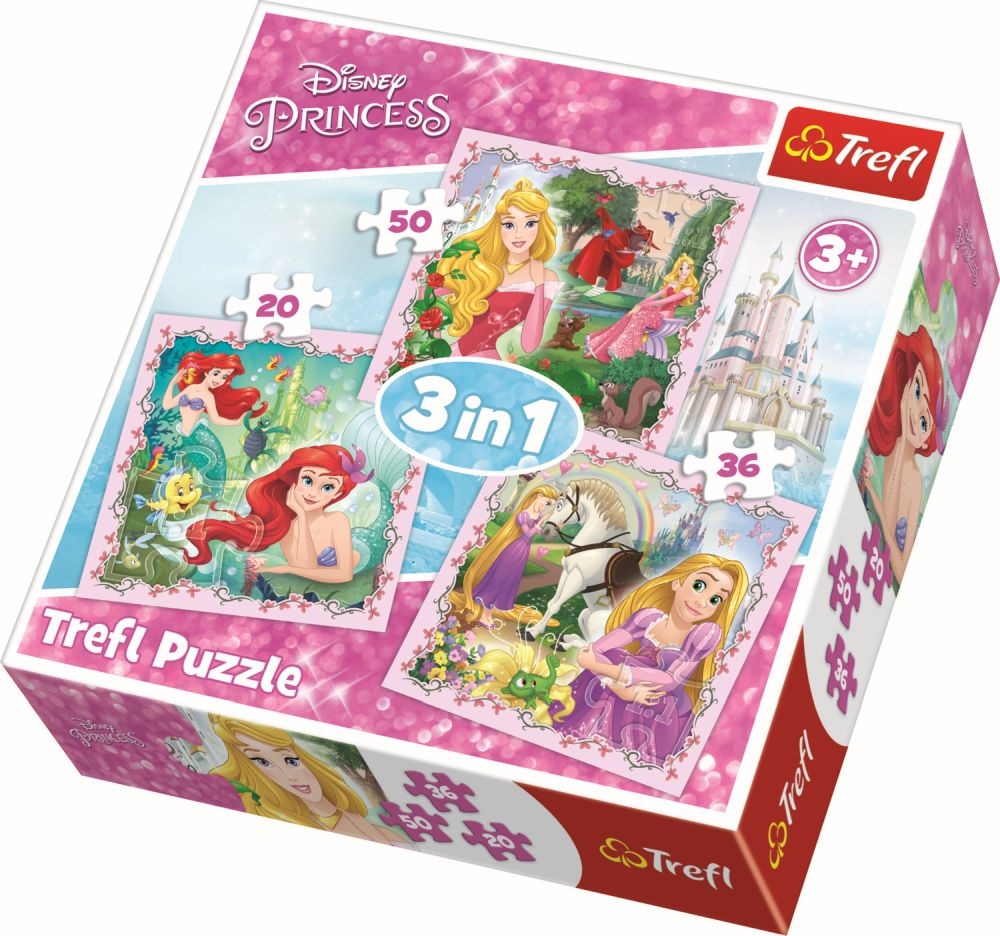 Puzzle Trefl 3in1 Printese