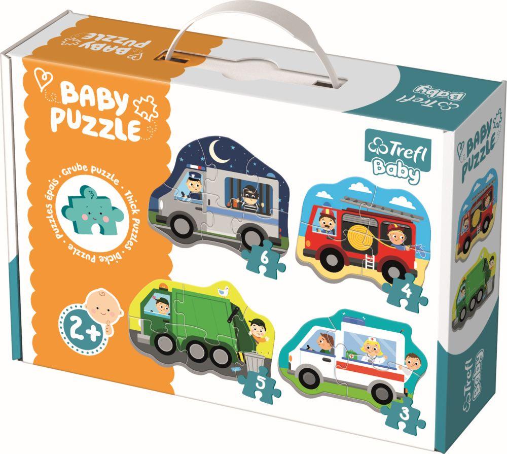 Puzzle Trefl Baby Clasic Vehicule Si Meserii