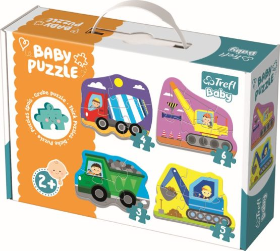 Puzzle Trefl Baby Clasic Utilaje La Treaba