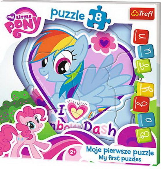 Puzzle Trefl Baby Fun Poneiul Rainbow Dash