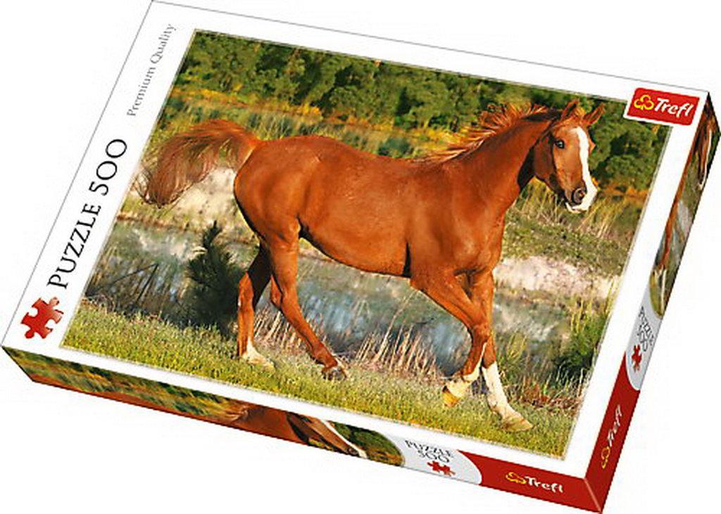 Puzzle Trefl 500 Frumosii Cai