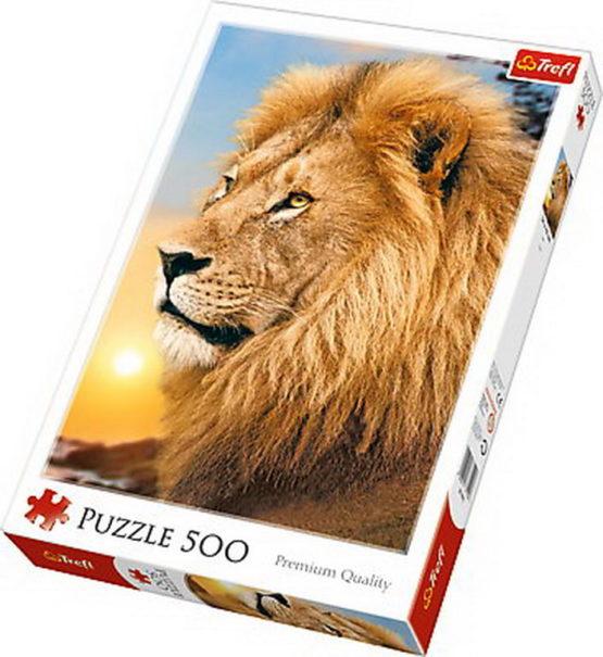 Puzzle Trefl 500 Leul