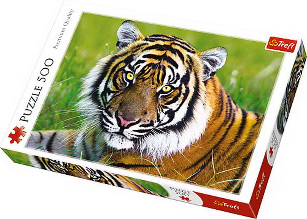 Puzzle Trefl 500 Tigru