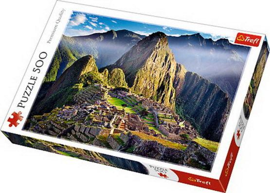 Puzzle Trefl 500 Sanctoar In Machu Picchu