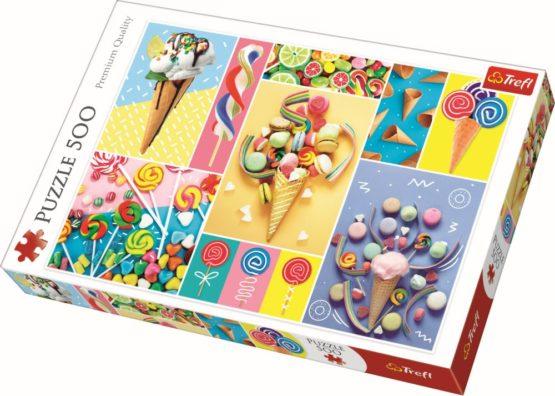 Puzzle Trefl 500 Dulciuri Delicioase