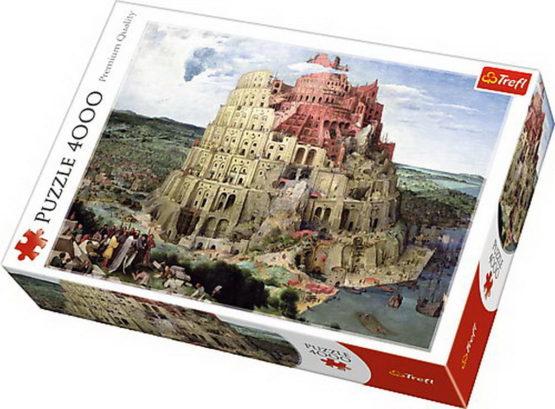Puzzle Trefl 4000 Turnul Babel