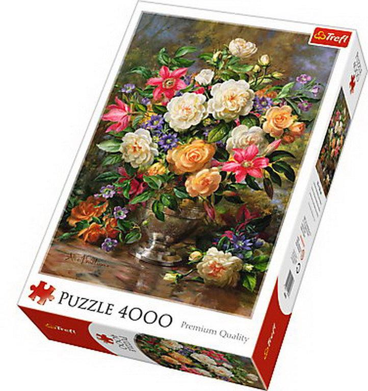Puzzle Trefl 4000 Flori Pentru Regina Elisabeta