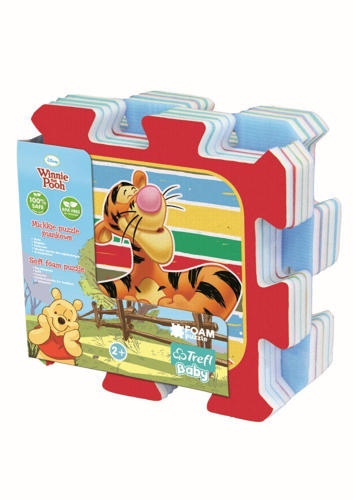 Puzzle Trefl Din Spuma Ursuletul Winnie Puh