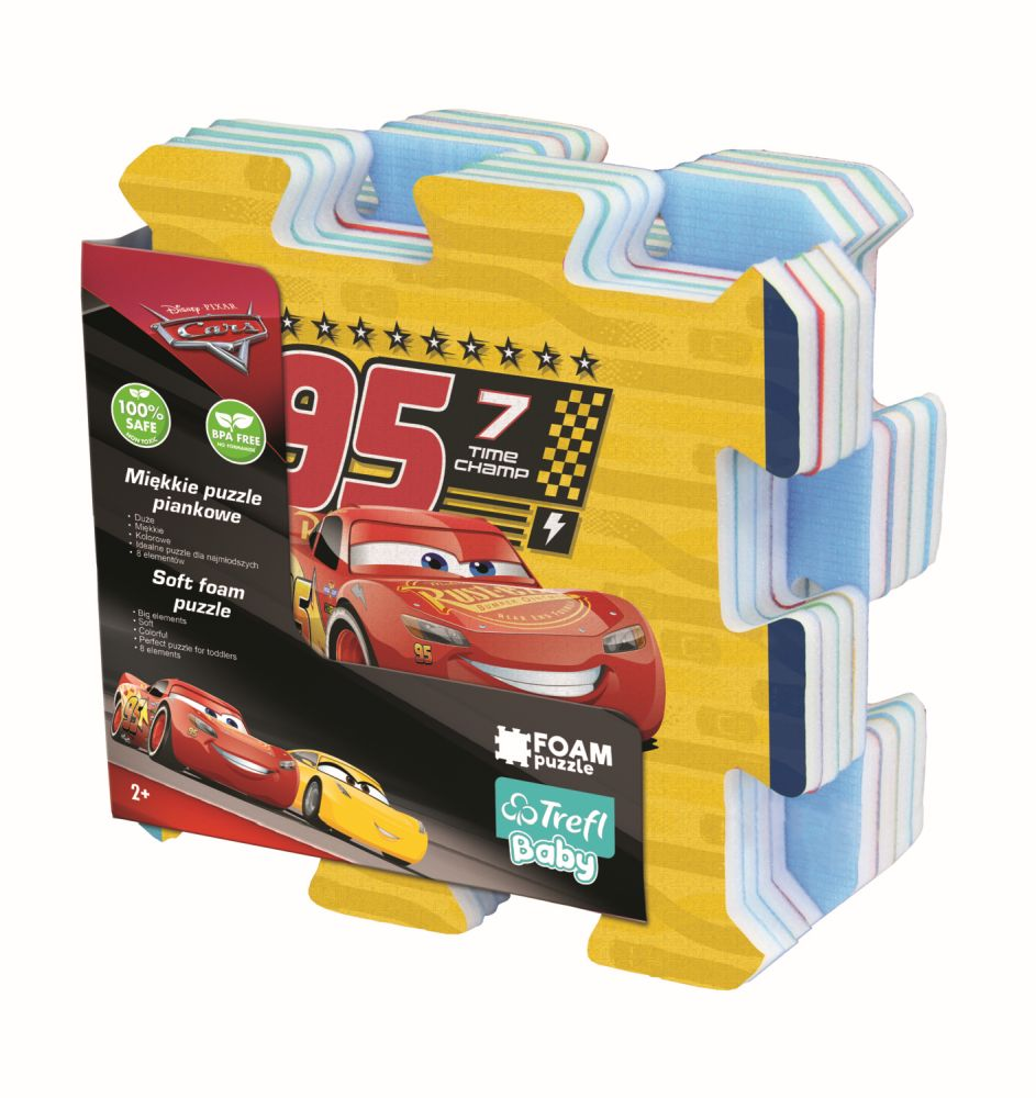 Puzzle Trefl Din Spuma Cars3