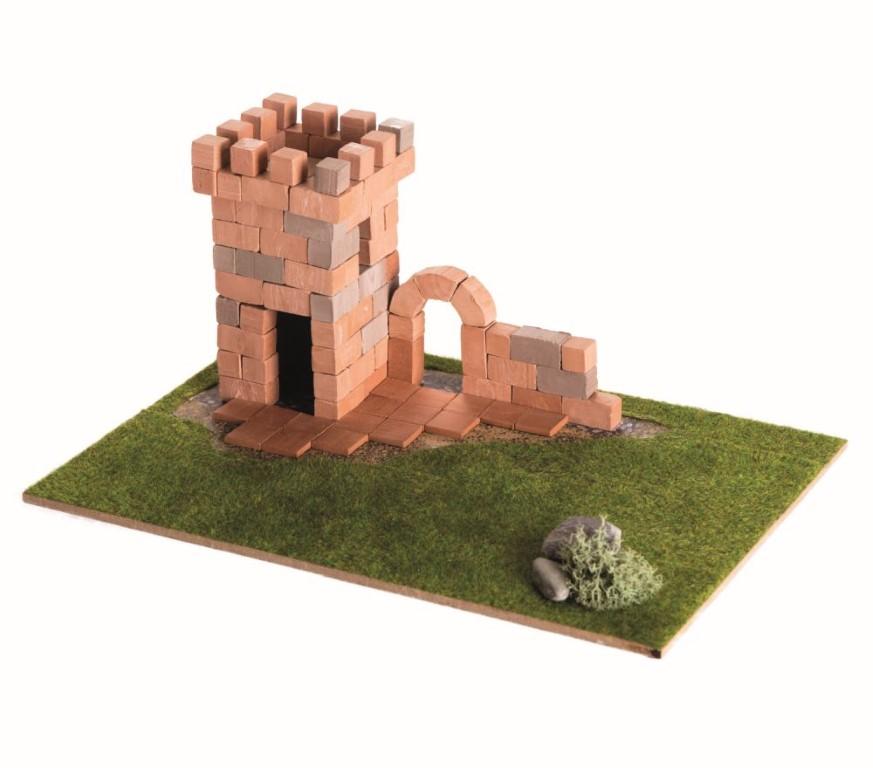 Brick Trick Turnul Din Caramidute Ceramice