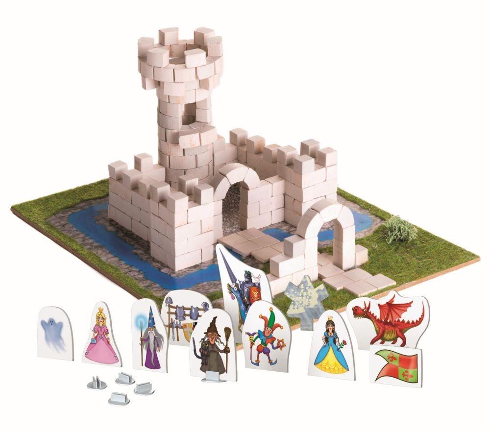 Brick Trick Castelul Din Caramidute Ceramice