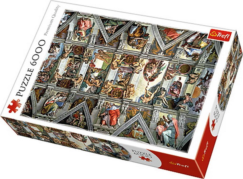 Puzzle Trefl 6000 Tavanul Capelei Sixtine