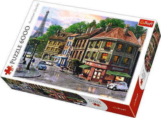 Puzzle Trefl 6000 Strazile Parisului