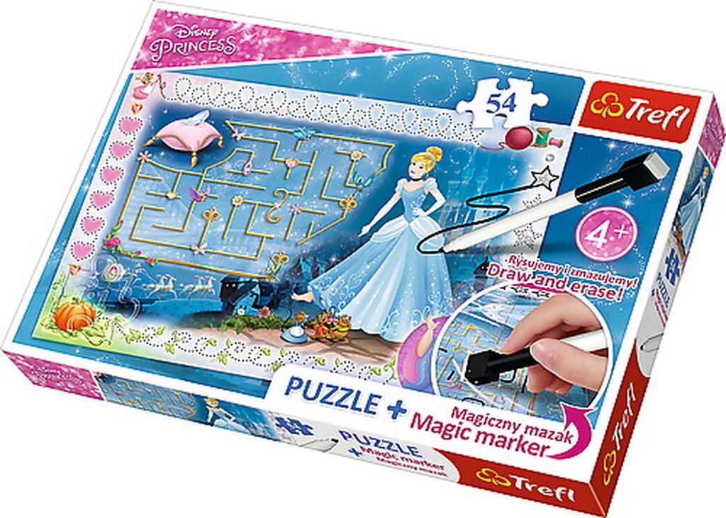 Puzzle Trefl 54 Plus Cu Marker Cenusareasa