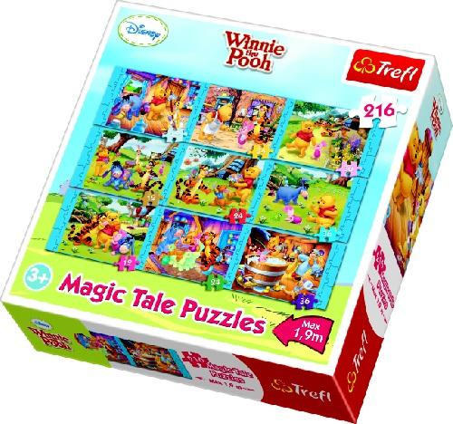 Puzzle Trefl 9in1 Povestile Lui Winnie De Plus