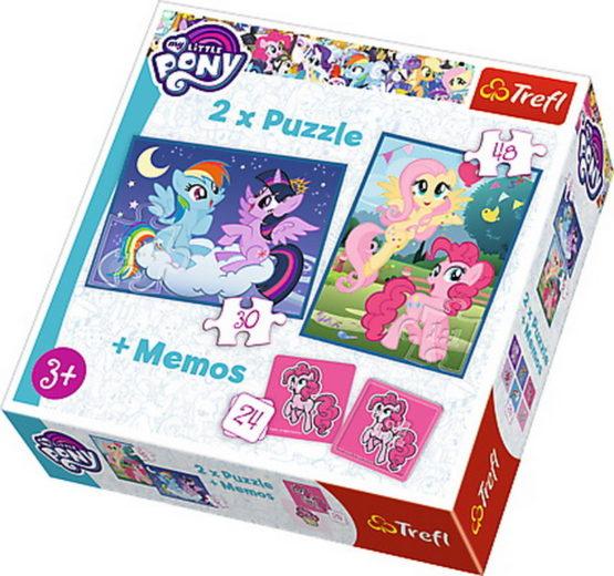Puzzle Trefl 2in1 Memo Despre Prietenie