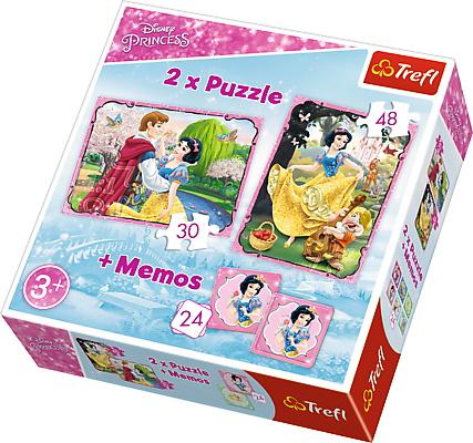 Puzzle Trefl 2in1 Memo Alba Ca Zapada