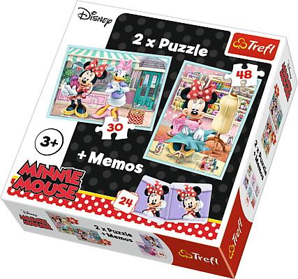 Puzzle Trefl 2in1 Memo Minnie