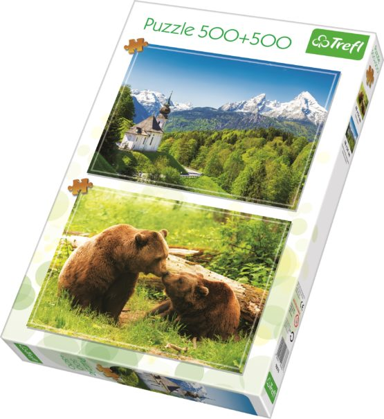 Puzzle Trefl 500 Si 500 Peisaj Din Natura