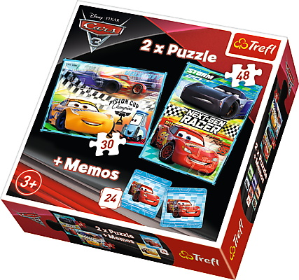 Puzzle Trefl 2in1 Memo Cursa