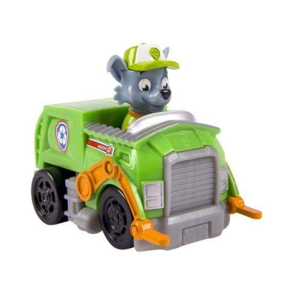 Masina Utilitara Paw Patrol Si Figurina Rocky