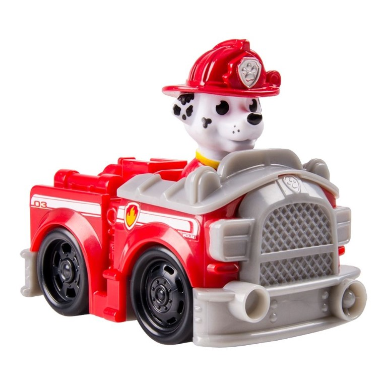 Masina De Pompieri Paw Patrol Si Figurina Marshall