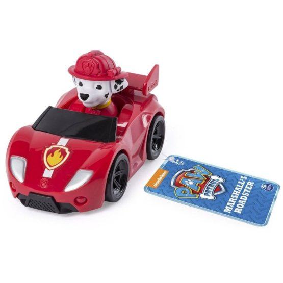 Masina De Pompieri Roadster Si Figurina Marshall