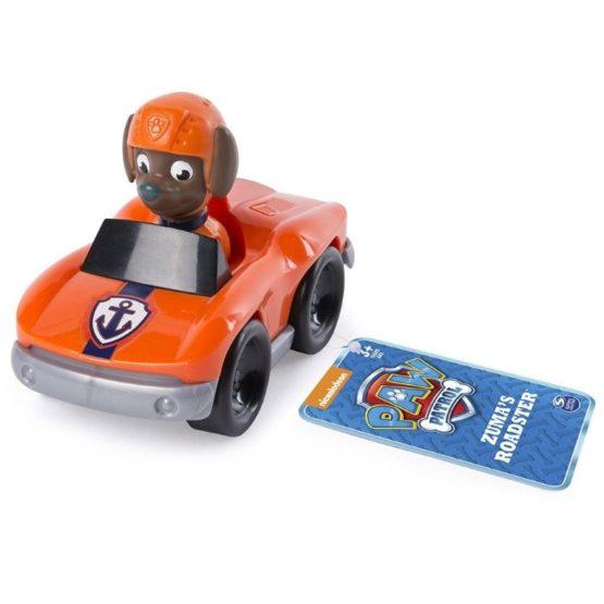 Masina Decapotabila De Marina Roadster Paw Patrol Si Figurina Zuma