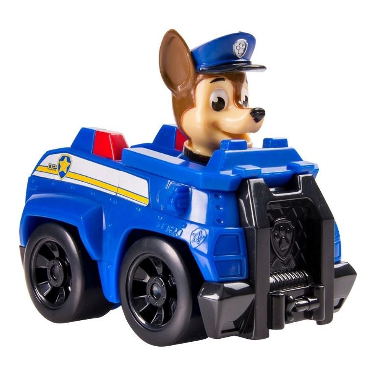 Masina De Politie Paw Patrol Si Figurina Chase