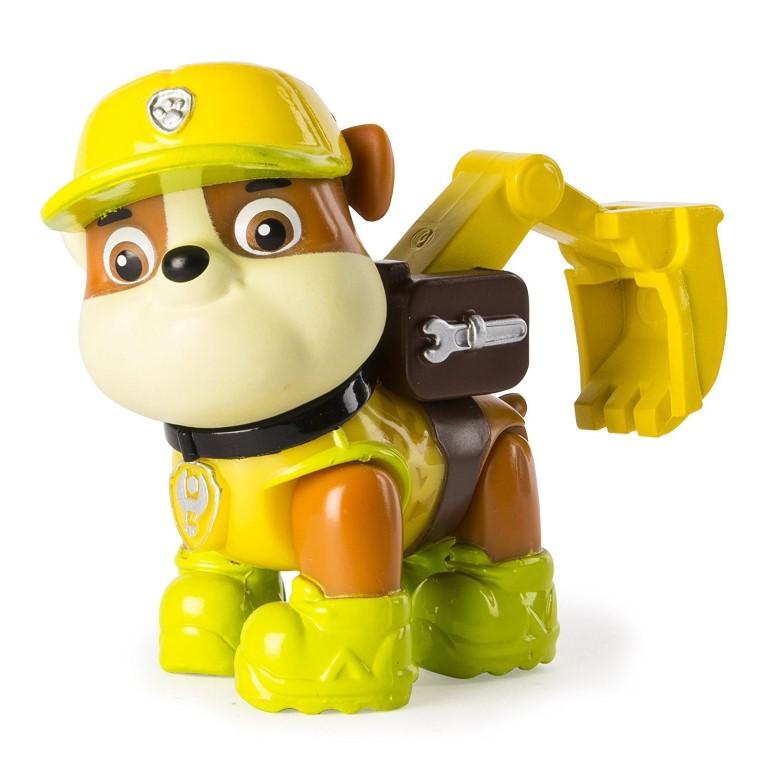 Figurina Paw Patrol Jungle Rescue Rubble