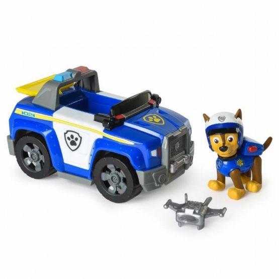 Figurina Cu Autovehicul Paw Patrol Chase