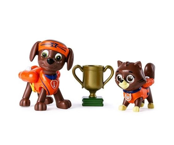 Set Figurine Spin Master Paw Patrol Pup Fu Zuma Si Kitty