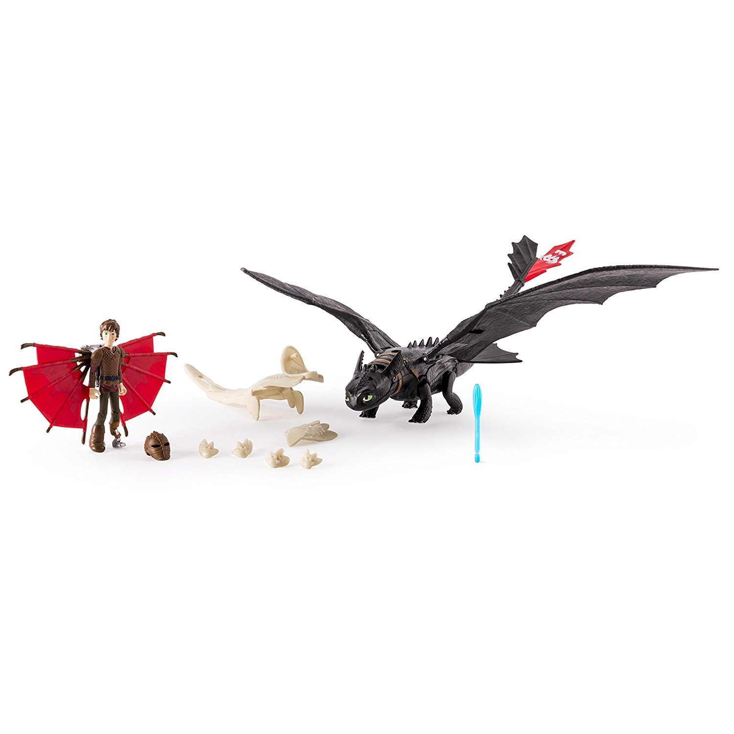 Set Dragon Cu Armura Toothless And Hiccup