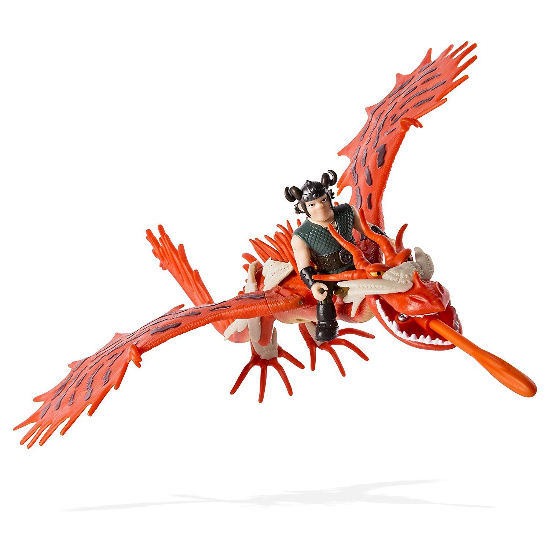 Set Dragon Cu Armura Hookfang Si Snotlout